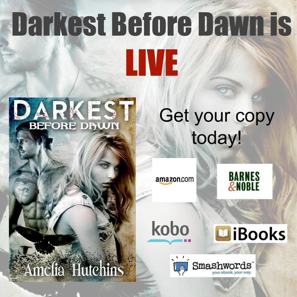 Review: Darkest Before Dawn by Amelia Hutchins